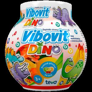 VIBOVIT DINO Jelly želé vitamíny pro děti 50 kusů