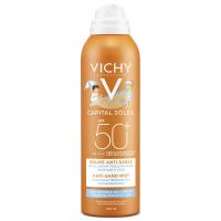 VICHY Capital Soleil jemný sprej pro děti odpuzující písek SPF 50 200 ml