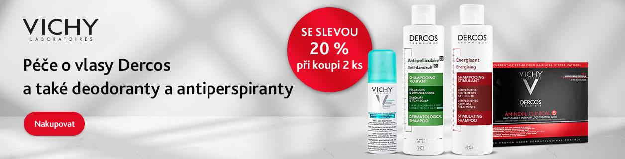 Vichy Dercos a deo -20 %