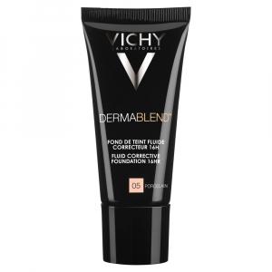 VICHY Dermablend Fluidní korekční make-up - odstín 05 Porcelain 30 ml