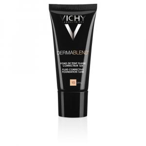 VICHY Dermablend Fluidní korekční make-up - odstín 15 Opal 30 ml