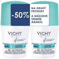 VICHY Anti-traces roll-on deodorant 2x 50 ml DUOPACK