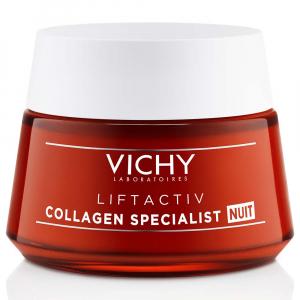 VICHY Liftactiv Collagen Specialist Komplexní noční péče proti vráskám 50 ml