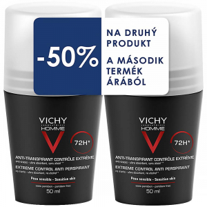 VICHY Men Deo roll-on 2x 50 ml DUOPACK