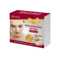 VIESTE Resveratrol extra 2 x 60 kapslí + DÁREK