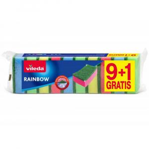 VILEDA Rainbow Houbička 9+1 ks