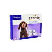 VIRBAC Effitix Spot-on pro psy M (10-20 kg) 4 pipety