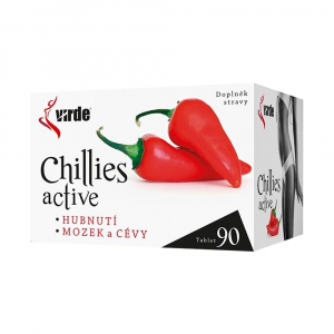 VIRDE Chillies Active 90 tablet