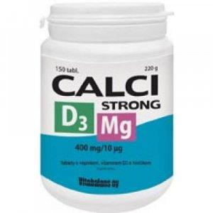 VITABALANS Calci Strong + Mg + vitamím D3 150 tablet