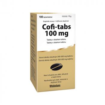 VITABALANS Coffi tabs 100 tablet