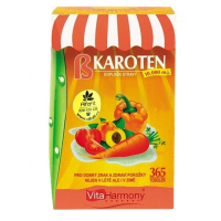 VitaHarmony Beta karoten 10.000m.j 365 tablet