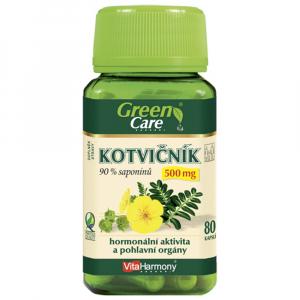 VITAHARMONY Kotvičník 500 mg 90 % saponinů 80 kapslí