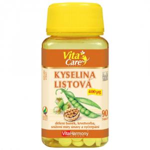 VITAHARMONY Kyselina Listová 400 mg 90 tablet
