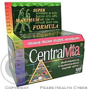 VitaHarmony Multivitaminy Central Vita tbl.100