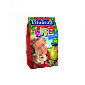 VITAKRAFT Rodent Rabbit krmivo Life Dream 600 g