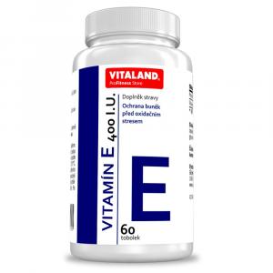 VITALAND Vitamín E 400 I.U. 60 tobolek