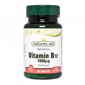 NATURES AID Vitamín B12 - 1000 mcg 90 tablet