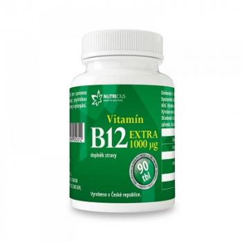 NUTRICIUS Vitamín B12 EXTRA 1000 mcg 90 tablet