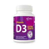 NUTRICIUS Vitamín D3 EXTRA 2500IU 90 tablet