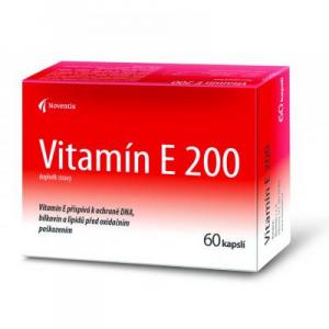 NOVENTIS Vitamín E 200 60 kapslí