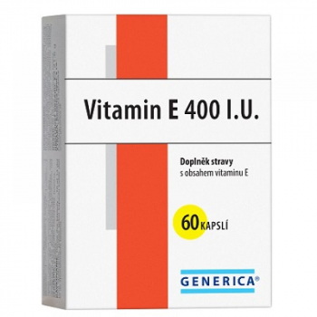 GENERICA Vitamin E 400 mg 60 kapslí