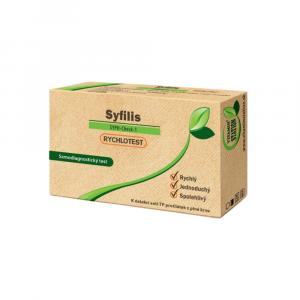 VITAMIN STATION Rychlotest syfilis samodiagnostický test 1 kus