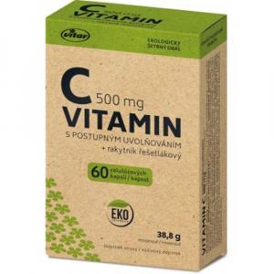VITAR EKO Vitamin C 500 mg + rakytník 60 kapslí