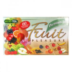 VITTO TEA Fruit pleasure PREMIUM BOX 60 sáčků