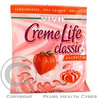Vivil Creme life jahoda bez cukru 40g