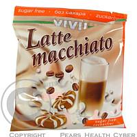 Vivil Macchiato kafe late 40 g bonbony cucací