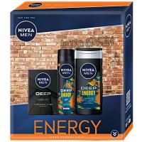 NIVEA Men Energy Deep Dárkové balení