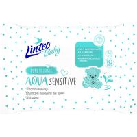 LINTEO Baby Vlhčené ubrousky Aqua 10 ks