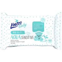 LINTEO Baby Vlhčené ubrousky Aqua 48 ks