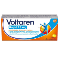 VOLTAREN Rapid 25 mg 10 měkkých tobolek