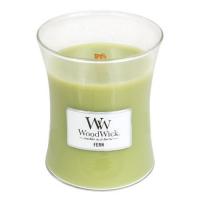 WOODWICK Vonná svíčka váza Fern 275 g
