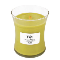 WOODWICK Vonná svíčka váza Willow 275 g