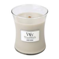 WOODWICK Vonná svíčka váza Wood Smoke 275 g