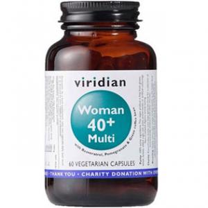 VIRIDIAN Nutrition WOMAN 40+ Multi 60 kapslí