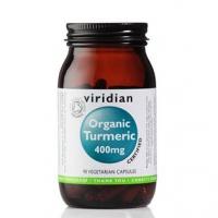 VIRIDIAN Nutrition Organic Turmeric 400mg 90 kapslí