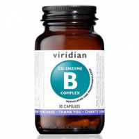 VIRIDIAN Nutrition Co-enzyme B Complex 30 kapslí