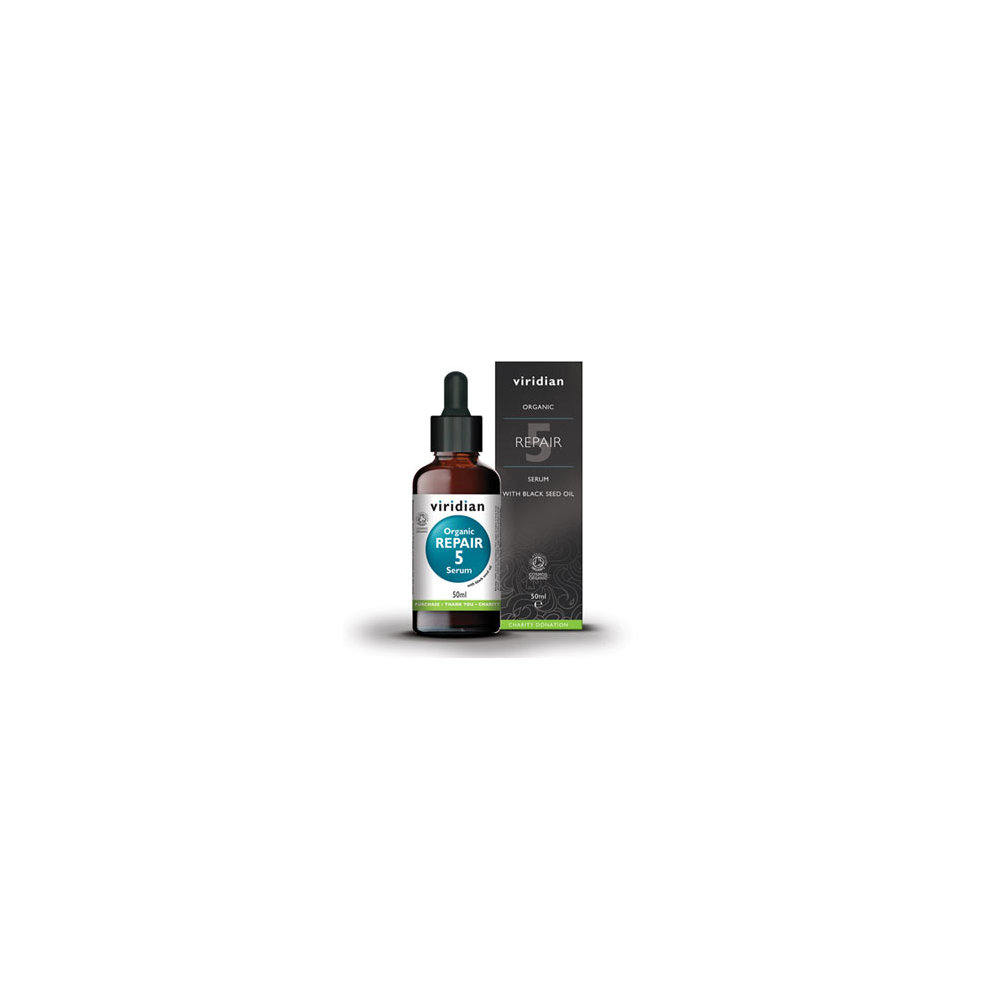 VIRIDIAN Nutrition Organic Repair 5 Serum 50 ml