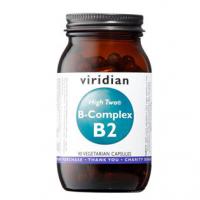 VIRIDIAN Nutrition B-Complex B2 High Two 90 kapslí