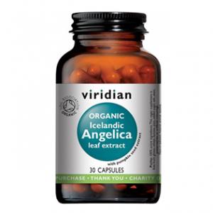 VIRIDIAN Nutrition organic icelandic angelica 30 kapslí