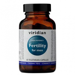 VIRIDIAN Nutrition Fertility for Men 60 kapslí