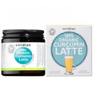 VIRIDIAN Nutrition Organic Curcumin Latte 30g
