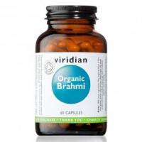 VIRIDIAN Nutrition Organic Brahmi 60 kapslí