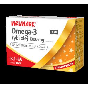 WALMARK Omega 3 Forte 130 + 65 tobolek PROMO 2020