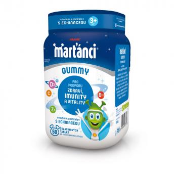 WALMARK Marťánci Gummy Echinacea 20 mg 50 ks