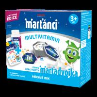 WALMARK Marťánci multivitamin mix 50 + 50 a postřehové karty ZDARMA
