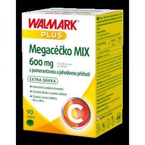 WALMARK Megacéčko Mix Vitamín C 600mg 90 tablet